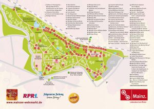 Mainzer Weinmarkt Lageplan 2016